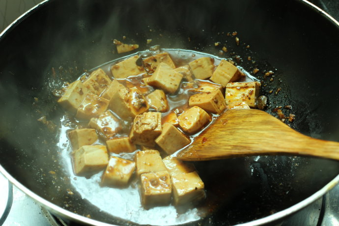 Mapo Tofu step13