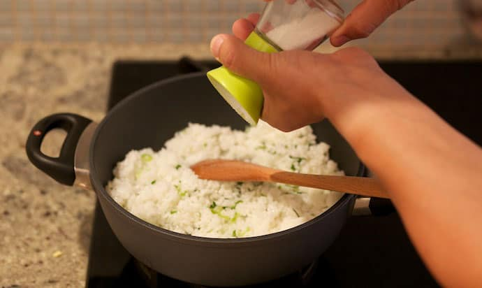 fried perfect rice step12