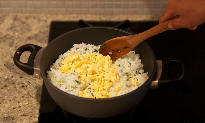 fried perfect rice step13