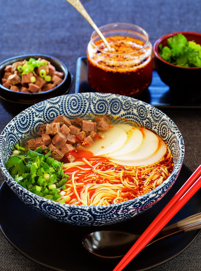 lanzhou beef noodles