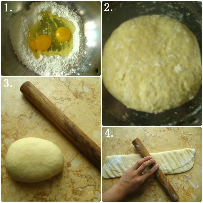 wonton wrappers method two step1