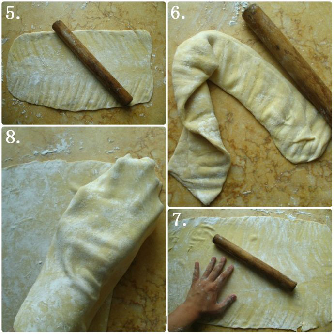 wonton wrappers method two step2