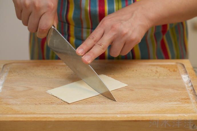 wonton wrappers step7