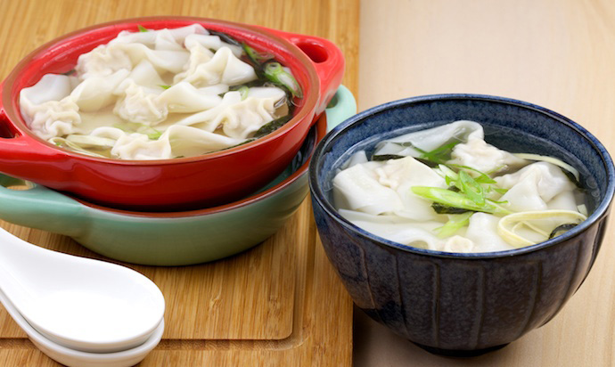 Homemade wonton soup recipe yum of china learn how to make tortellini and you have the method for making the chinese wonton wonton forumfinder Images