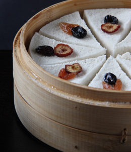 Korean White Steamed Rice Cakes