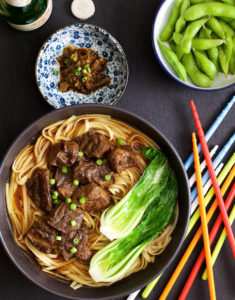 Taiwan Braised Beef Noodles