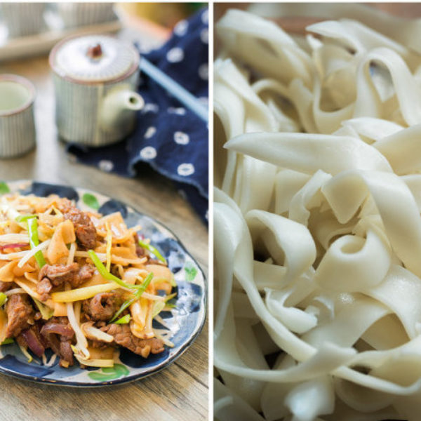 Dry Fried Beef Ho Fun Recipe (Beef Chow Fun)
