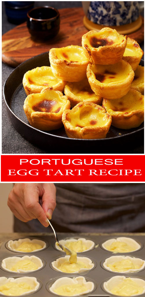 how to make Portuguese Egg Tart