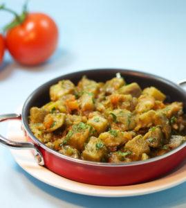 Chinese Braised Eggplant