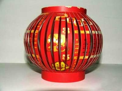 How to Make a Chinese Lantern step 4
