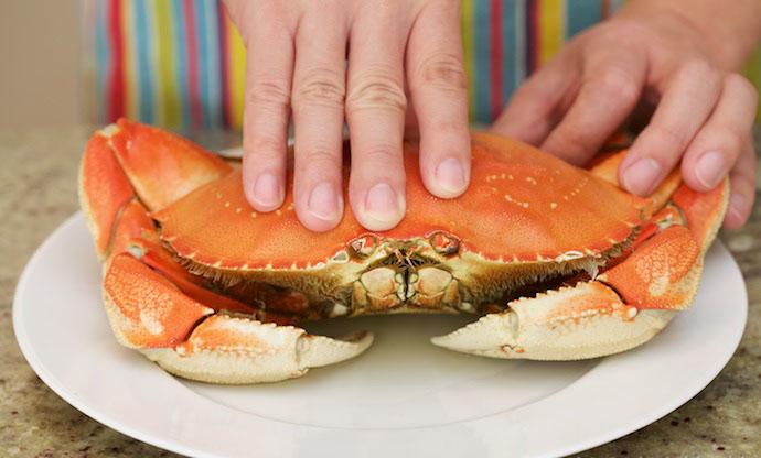 Singapore Black Pepper Crab step1