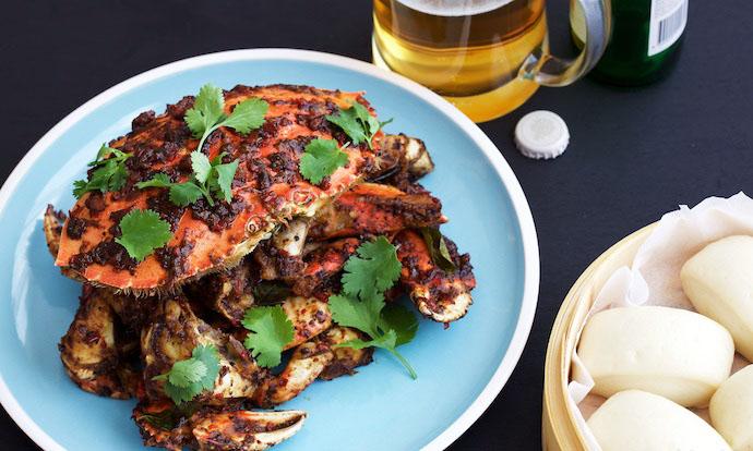 Singapore Black Pepper Crab step