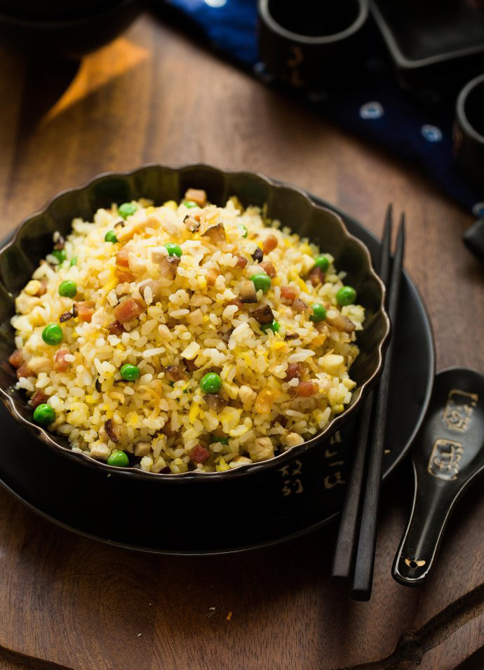 Yangzhou fried rice7