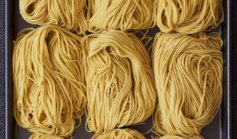 Homemade Chinese Alkaline Water Noodles