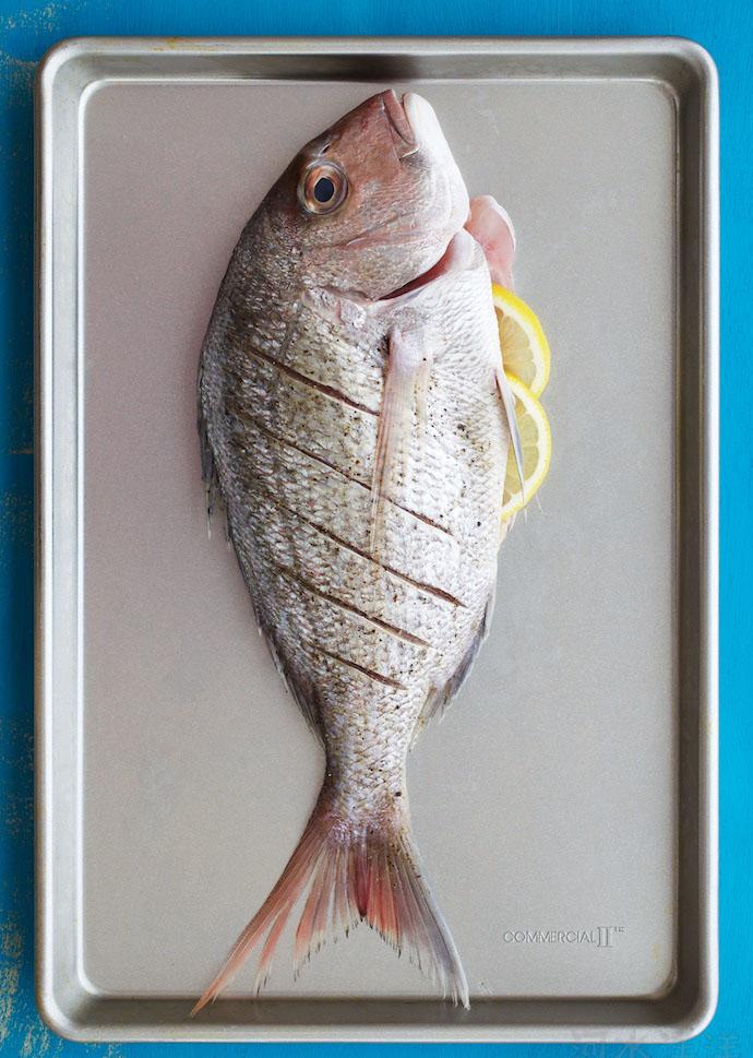 Baked Fresh Fish step1