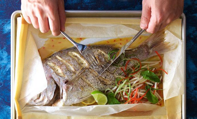 Baked Fresh Fish