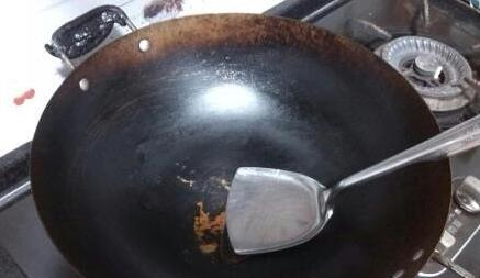 How to Clean Your Wok step1