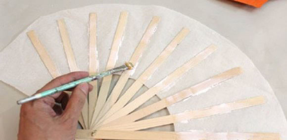 Make a Paper Fan step12