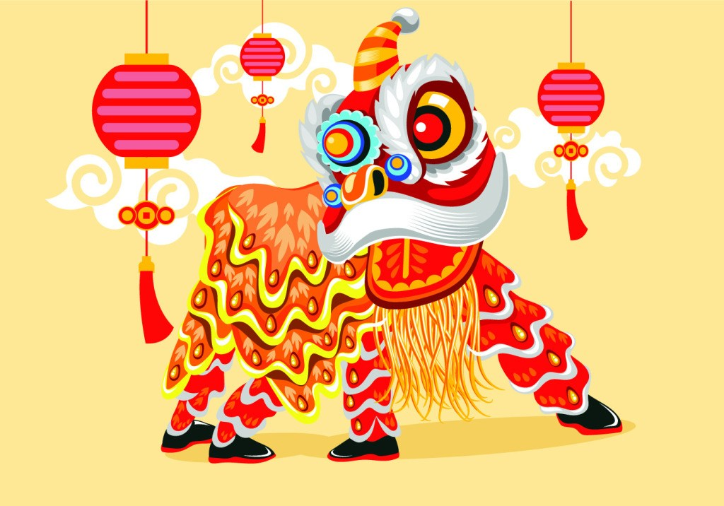 Origin Lion Dance