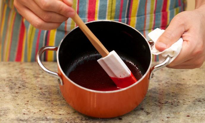 Raspberry Mousse Cake step7