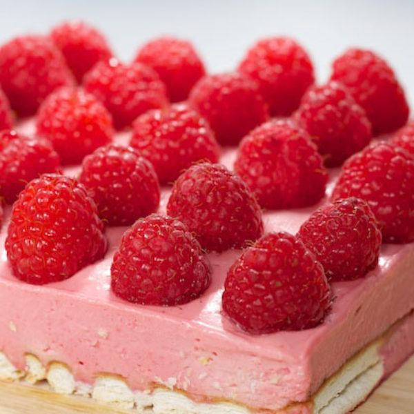 Raspberry Mousse Cake, The Perfect Summer Dessert