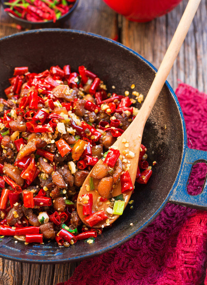 Spicy Sichuan Chicken