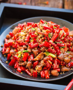 Mala Chicken (Spicy Sichuan Chicken)