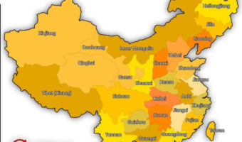 China Geography (Physical Map Of China)