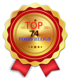 Selected as Top 74 Food Blogs by Yum of China
