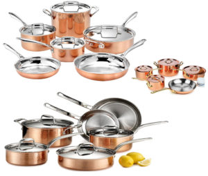 What Is the Best Copper Cookware –  Top Five Copper Cookware Reviews