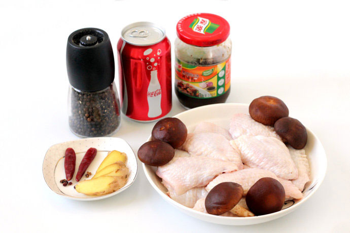 Coke Chicken Wings Ingredients