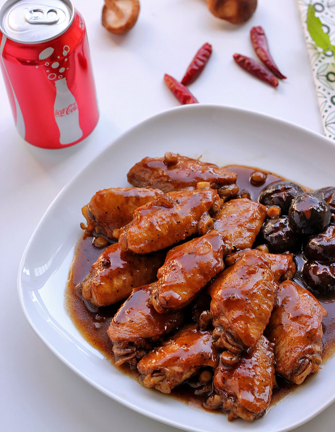 Coke Chicken Wings