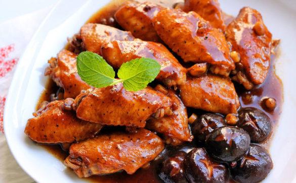 Coke Chicken Wings