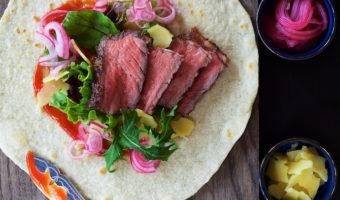 Gourmet Steak Tortillas