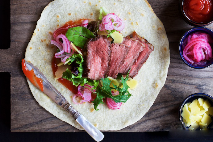 Gourmet Steak Tortillas
