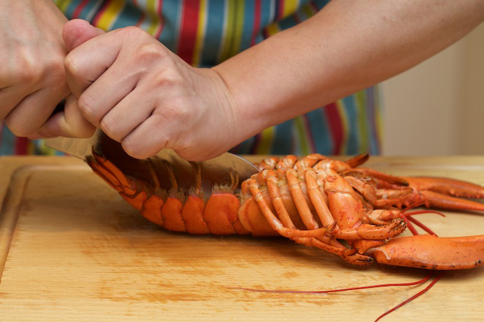 Lobster Thermidor step11