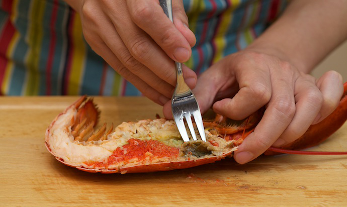 Lobster Thermidor step12