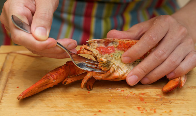 Lobster Thermidor step14