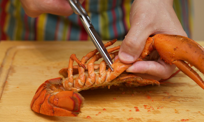 Lobster Thermidor step18