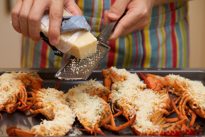 Lobster Thermidor step29