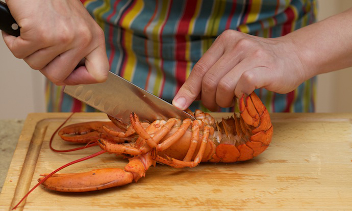 Lobster Thermidor step8