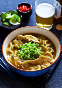 Classic Japanese Curry Udon