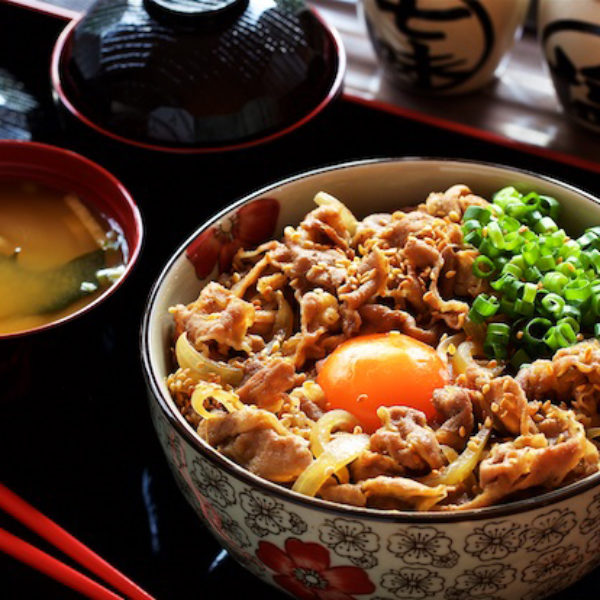 Authentic Japanese Marbled Beef Rice