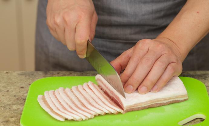 Japanese Sizzling Ginger Pork Step1