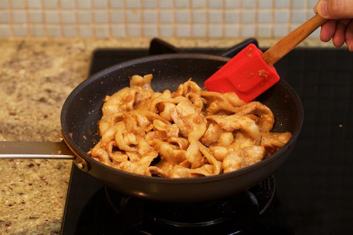 Japanese Sizzling Ginger Pork Step15