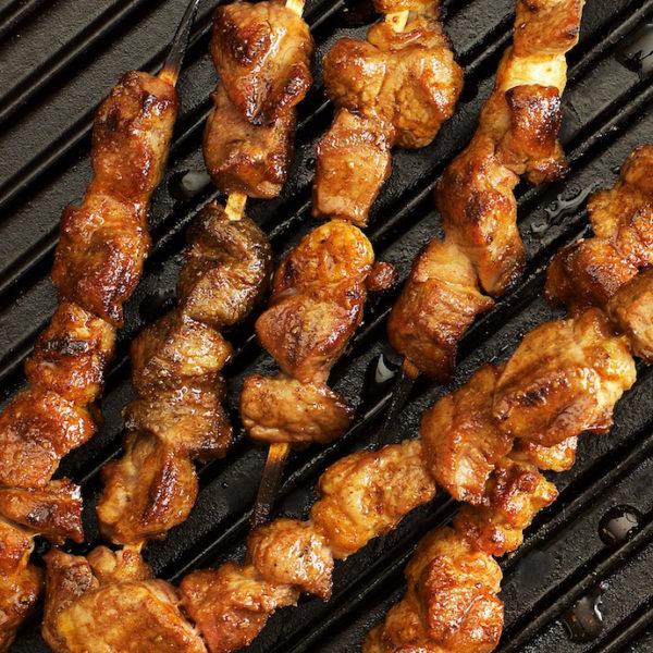 Barbecued Lamb Kebabs – Chinese Lamb Skewers(新疆羊肉串)