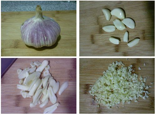 How to Make the Garlic Soy Sauce step1
