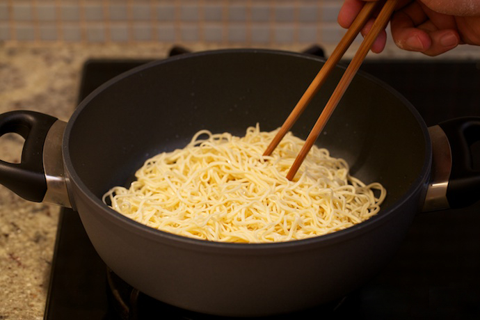 hong kong style chow mein step14