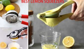 Best Lemon Squeezers –  Top Five Lemon Squeezers Reviews