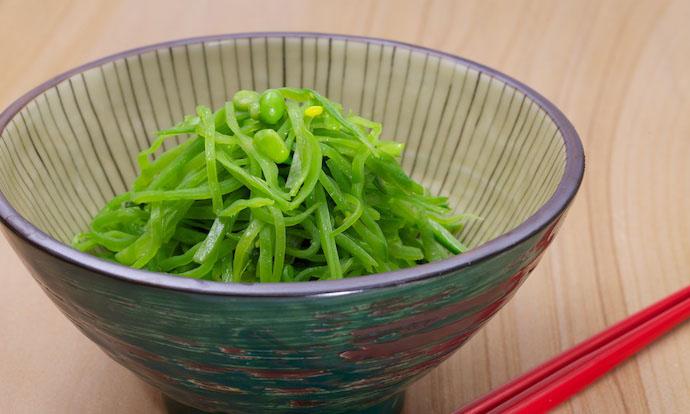 Method two stir fry snow peas2